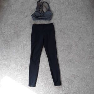 Black dry fit nike leggings size small